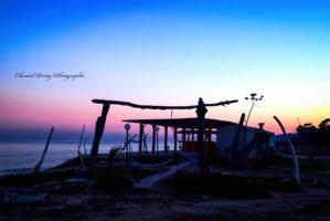 La photo du jour : instant d'éternité sur la plage de Solaro