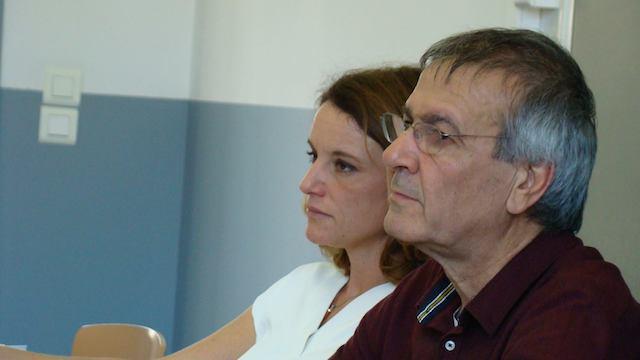 Anissa-Flore Amziane et Michel Stefani
