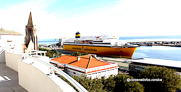 11 Mai - Corsica Ferries rodée pour s'adapter aux conditions du déconfinement