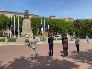 Bastia : Une cérémonie du 8-Mai sans public