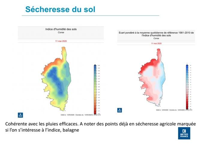 Météo Corse : Et si on parlait sécheresse ?