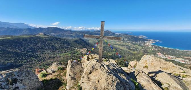La photo du jour :  sur le Sant Anghjulu au-dessus de Corbara