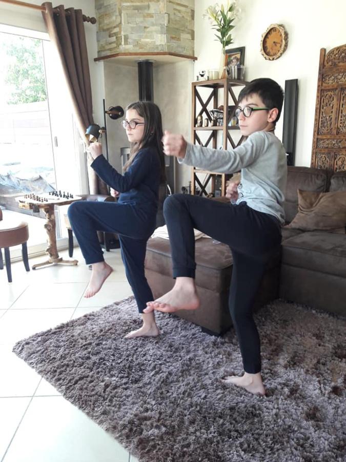 Covid-19 : Quand Facebook remplace les tatamis au Karaté Biguglia