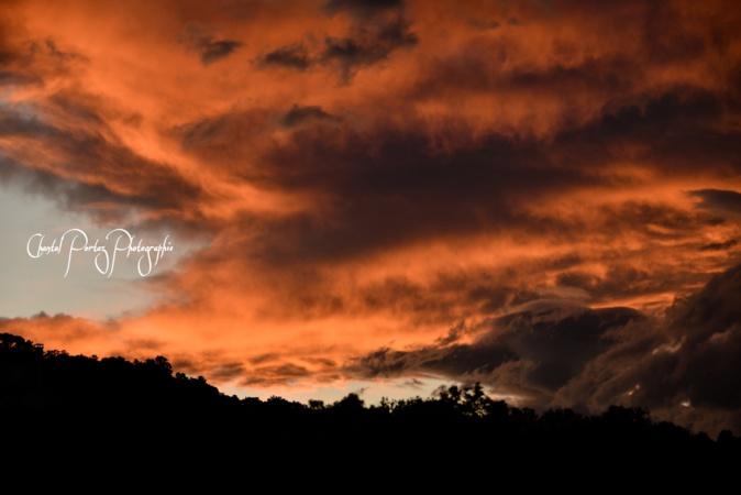 Le ciel au-dessus de Porto-Vecchio (Chantal Portaz)