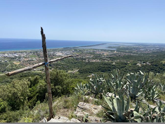 La photo du jour : vue imprenable sur Chjurlinu entre Furiani et Teghime