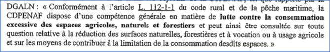 Préservation des espaces naturels, agricoles et forestiers :  lettre ouverte du Levante à l'Etat