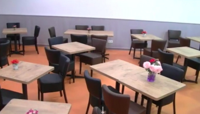 Réouverture post coronavirus du restaurant social de Bastia