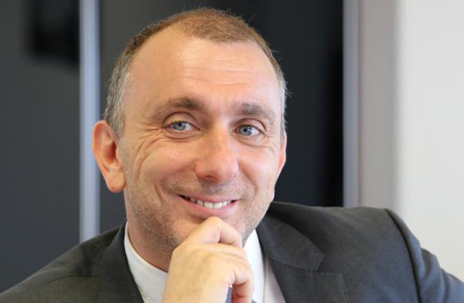 Jean-Christophe Angelini, leader du PNC, conseiller exécutif à la Collectivité de Corse et président de l'ADEC (Agence de développement économique de la Corse), est candidat à Portivechju pour les élections municipales. Photo Michel Luccioni.