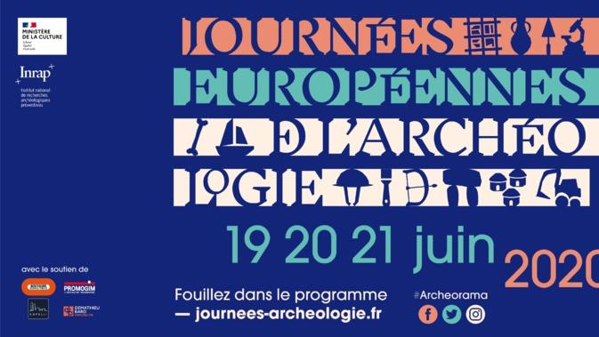 #Archeorama : Cette année la 11e édition des Journées européennes de l'archéologie sera sans frontières