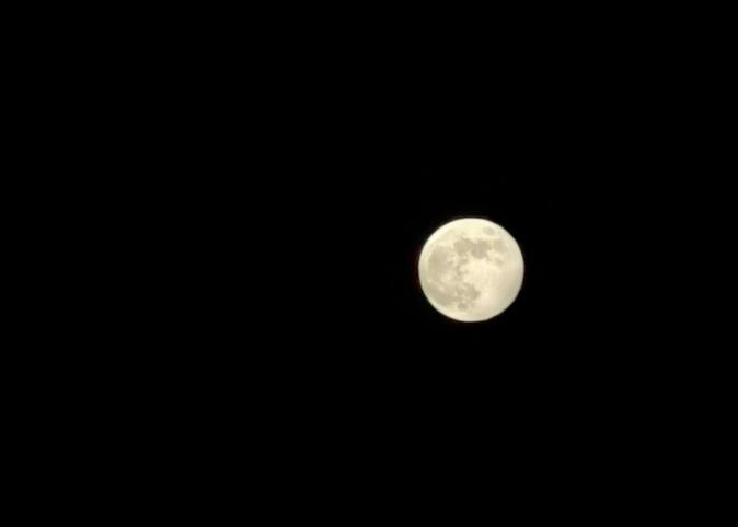Porto Vecchio, photos de la pleine lune du 5 juin 2020. Franck Tarussio