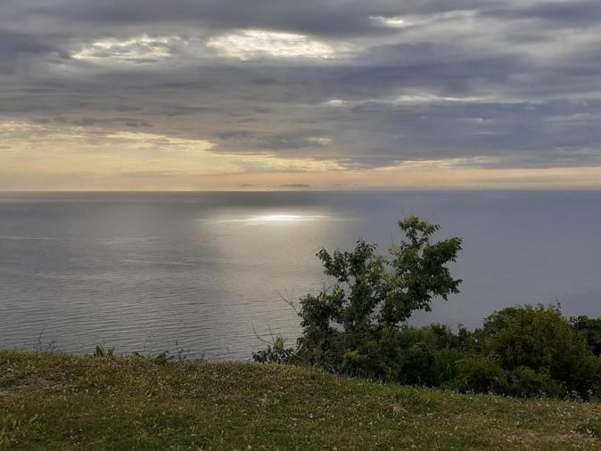 Coucher de soleil sur Canari  (Françoise Geronimi)
