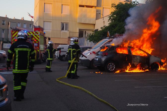 Bastia : encore des voitures brûlées à Montesoro