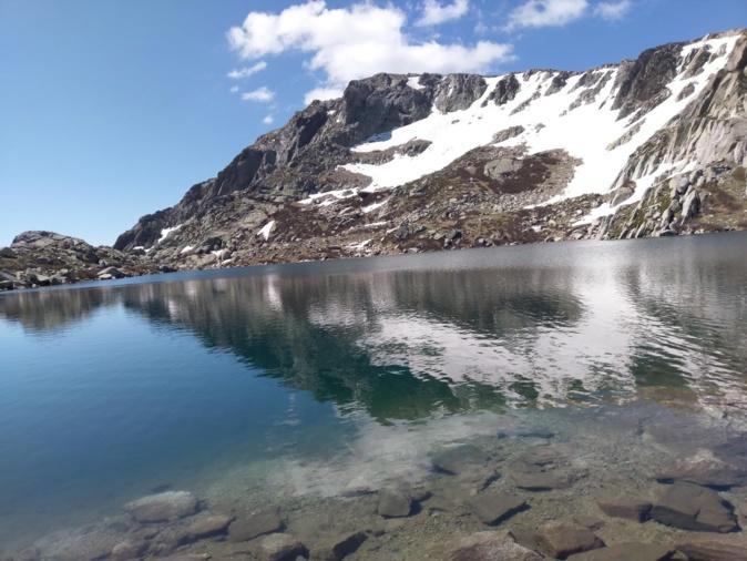La photo du jour : le lac Bastani la merveille de Ghisoni