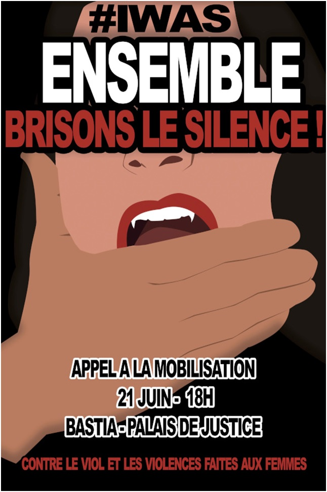 Bastia : Une manifestation contre les violences sexuelles