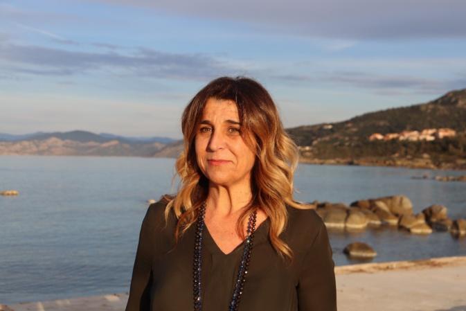 Angèle Bastiani, tête de liste U Core di Lisula, favorite du 2nd tour des municipales à L'île Rousse.