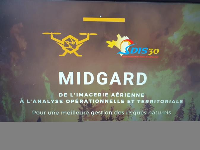 MIDGARD, jeune entreprise innovante corse, signe un partenariat avec le SIS du Gard