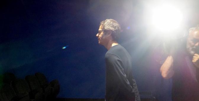 Frédéric Farrucci dans la lumière pour un grand film noir