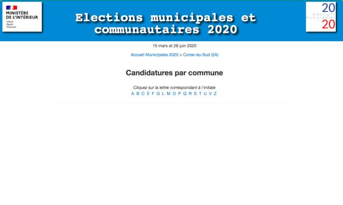Municipales 2020 : découvrez les résultats du second tour en Corse