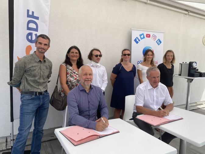 Corse : Pôle Emploi et EDF officialisent leur partenariat