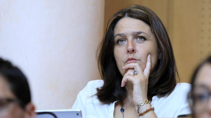 Pascale Simoni, conseillère territoriale du groupe Corsica Libera. Photo Michel Luccioni.