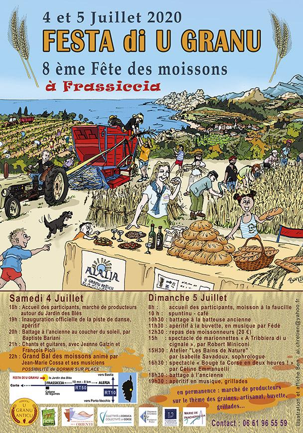 Frassiccia : A Festa di u Granu c'est ce week-end