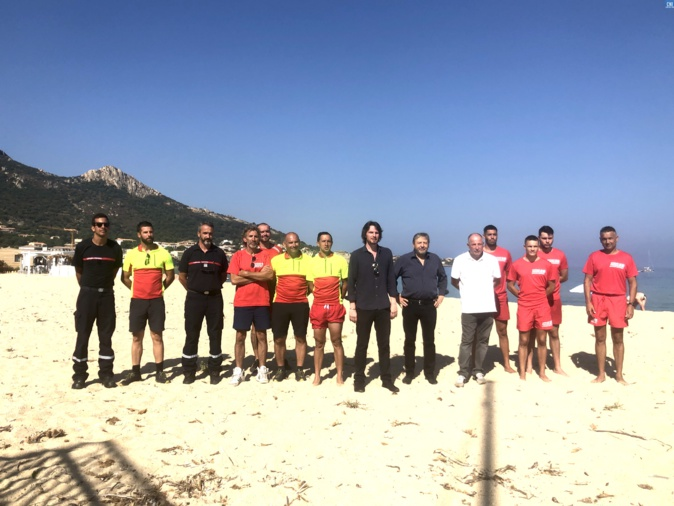 Le poste de secours de la plage d'Aregnu-Algajola est opérationnel