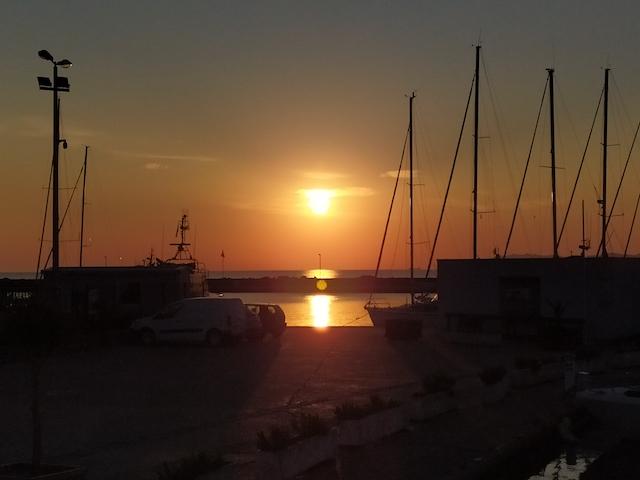 Macinnaggio, alors que le soleil venait de se lever, photo  Vincent Antonini