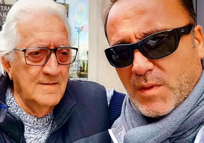 Jacky Pinelli avec Jean-Paul Luciani