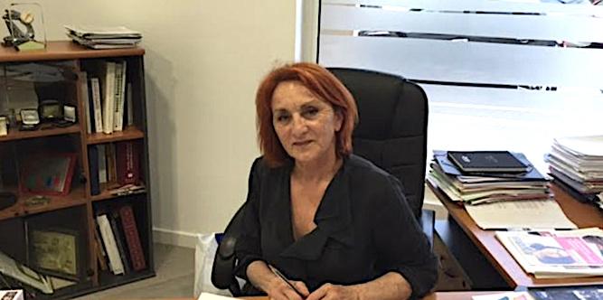 Louise Nicolai, présidente de l'U2P région Corse