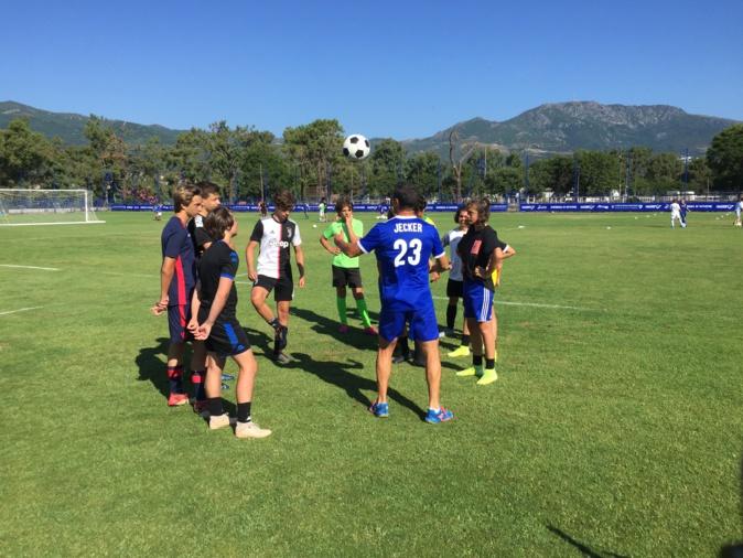 VIDEO - Football : les « Summer Camps » du SC Bastia