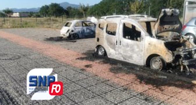 Borgo : trois véhicules incendiés devant le centre pénitentiaire
