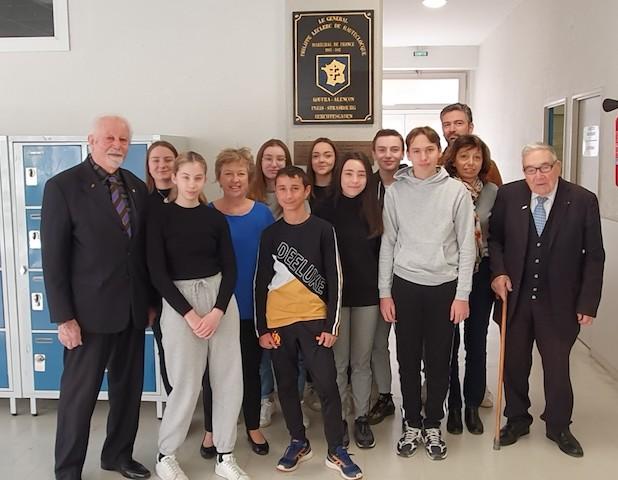 Une aide financière pour le devoir de mémoire au collège de Lucciana-Mariana