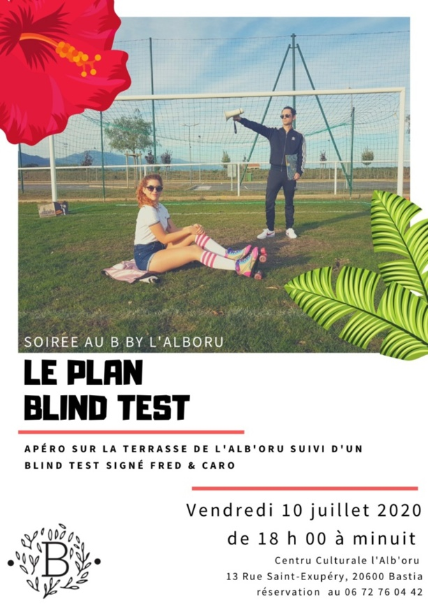Le Plan Blind Test à l'Alb'oru