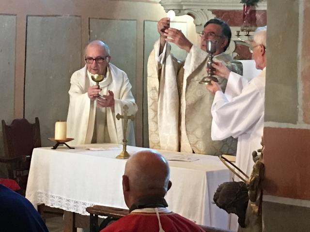 La messe présidée par Mgr Michel Aupetit, archevêque de Paris