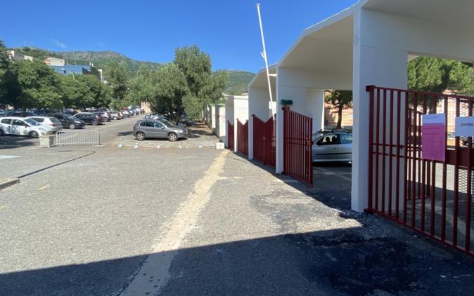 Le lycée du Fango de Bastia. Photo Livia Santana