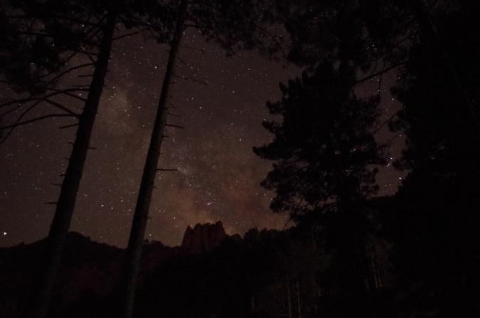 La photo du jour : La Voie Lactée au dessus de Punta Kyrie-Eleison
