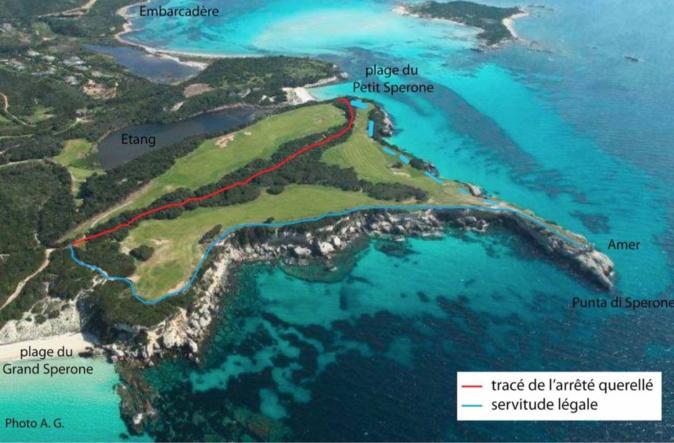 Sperone et Murtoli : l'État mettra-t-il un jour, enfin, en place la servitude légale du sentier littoral ?