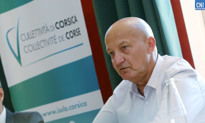 Camille Romani, président de la commission