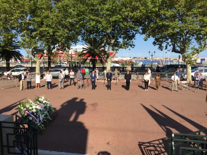 Bastia : hommage aux victimes des crimes racistes et antisémites de l'État français et  aux « Justes » de France