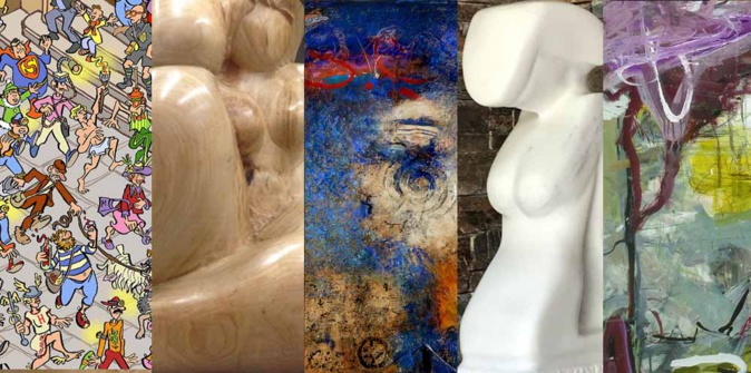 Bastia : 1ère exposition d'août à la Galerie Noir et Blanc