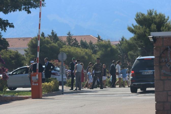 L'arrivée des autorités (Photo GG)