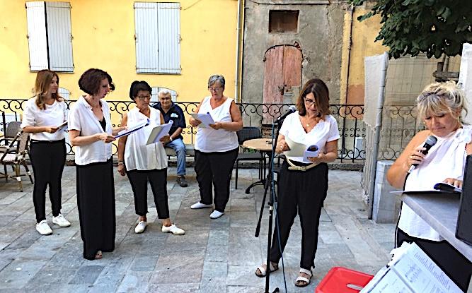 Beau moment de poésies musicales avec E Piume d'Isula