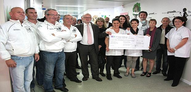 Ajaccio : 10 000€ pour l'unité Kangourou