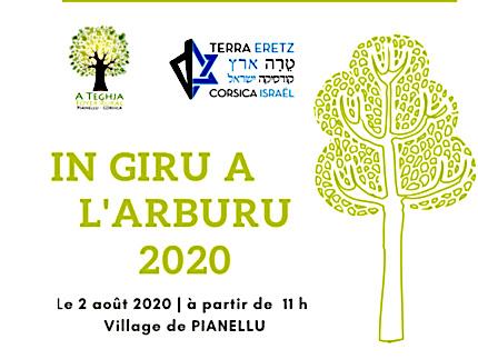 """Pianellu : """"In Giru a l'Arburu"""" avec Terra Eretz Corsica Israel et le foyer rural A Teghja"""
