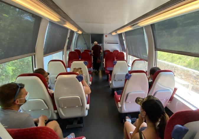 Covid-19 en Haute-Corse : des opérations de contrôle dans le train