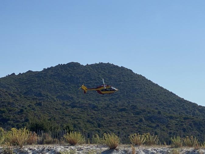 Rogliano : une femme blessée évacuée de la plage de Tamarone