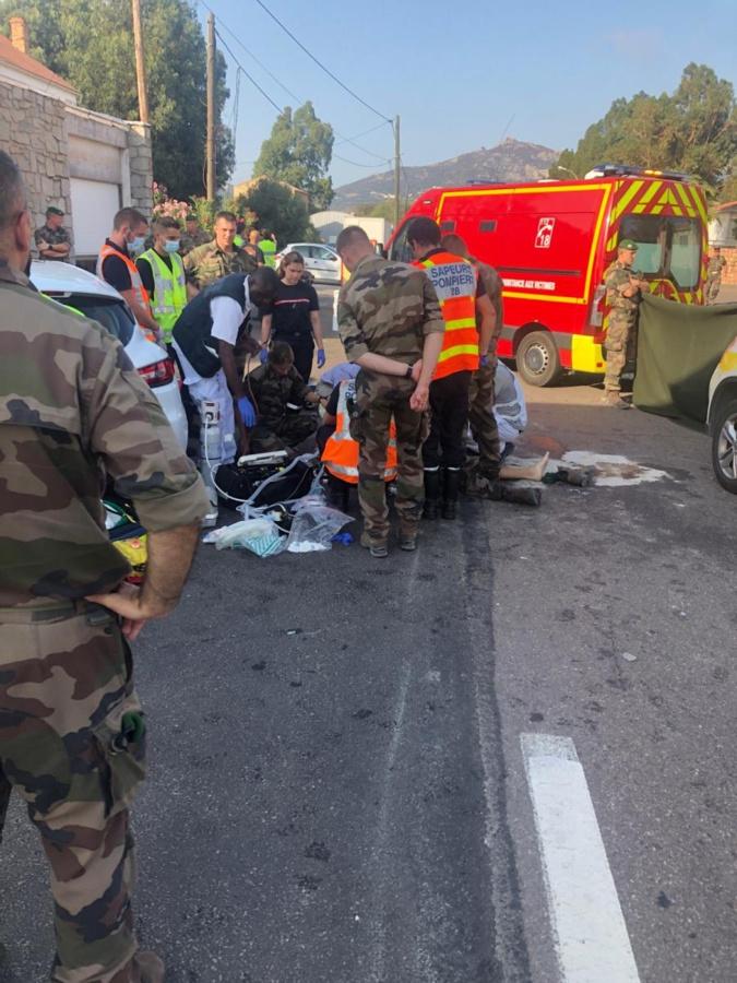 Accident de Calvi : le motard est décédé