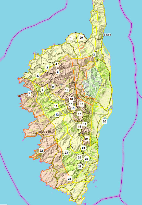 Risque incendie : plusieurs massifs corses en niveau orange ce 30 juillet