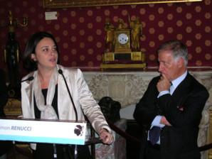 Sylvia PInel et Simon Renucci (Photos Y.C Garcia)