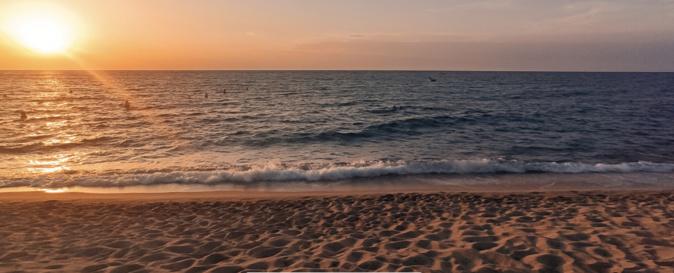 La plage de Lozari (Photo Philippe  Benklifa)